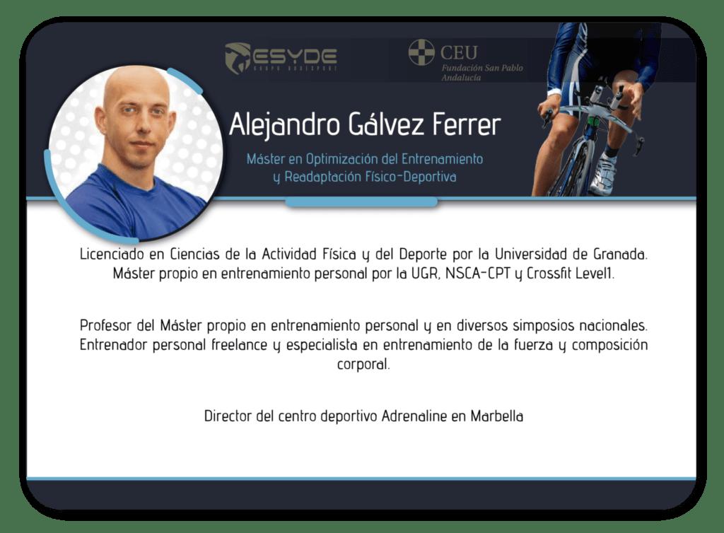 Alejandro Gálvez Ferrer2 ESYDE