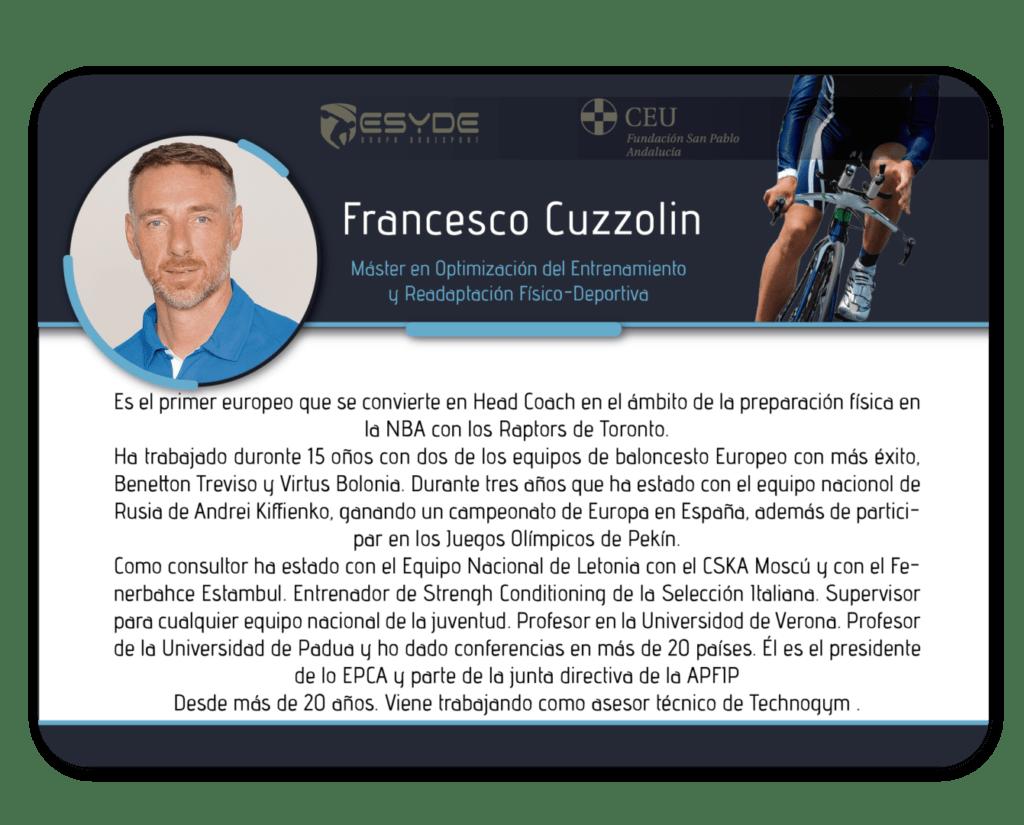 Francesco Cuzzolin2 ESYDE