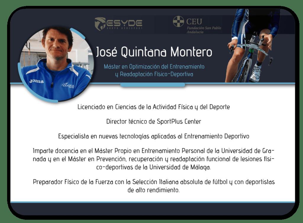 José Quintana Montero2 ESYDE