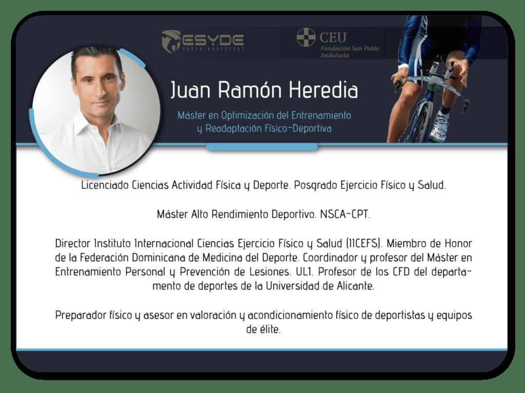 Juan Ramón Heredia2 ESYDE