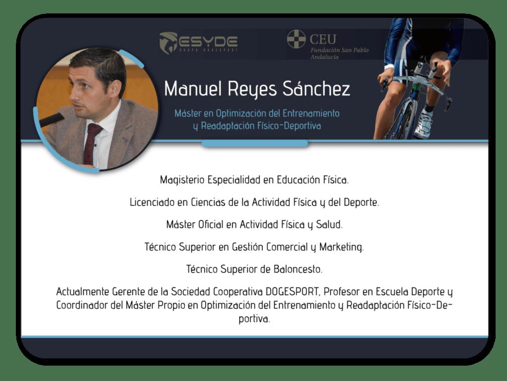 Manuel Reyes Sánchez2 ESYDE