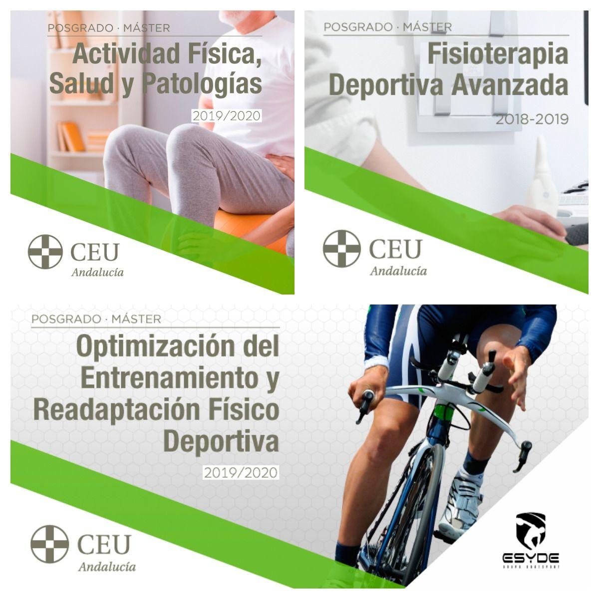 ¡Inscríbete en los posgrados deportivos ESYDE-CEU 2019-2020!
