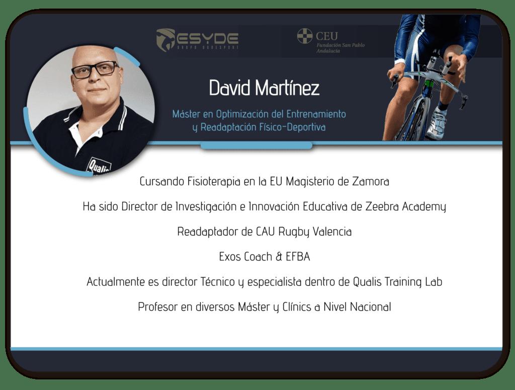 David Martínez 01 ESYDE