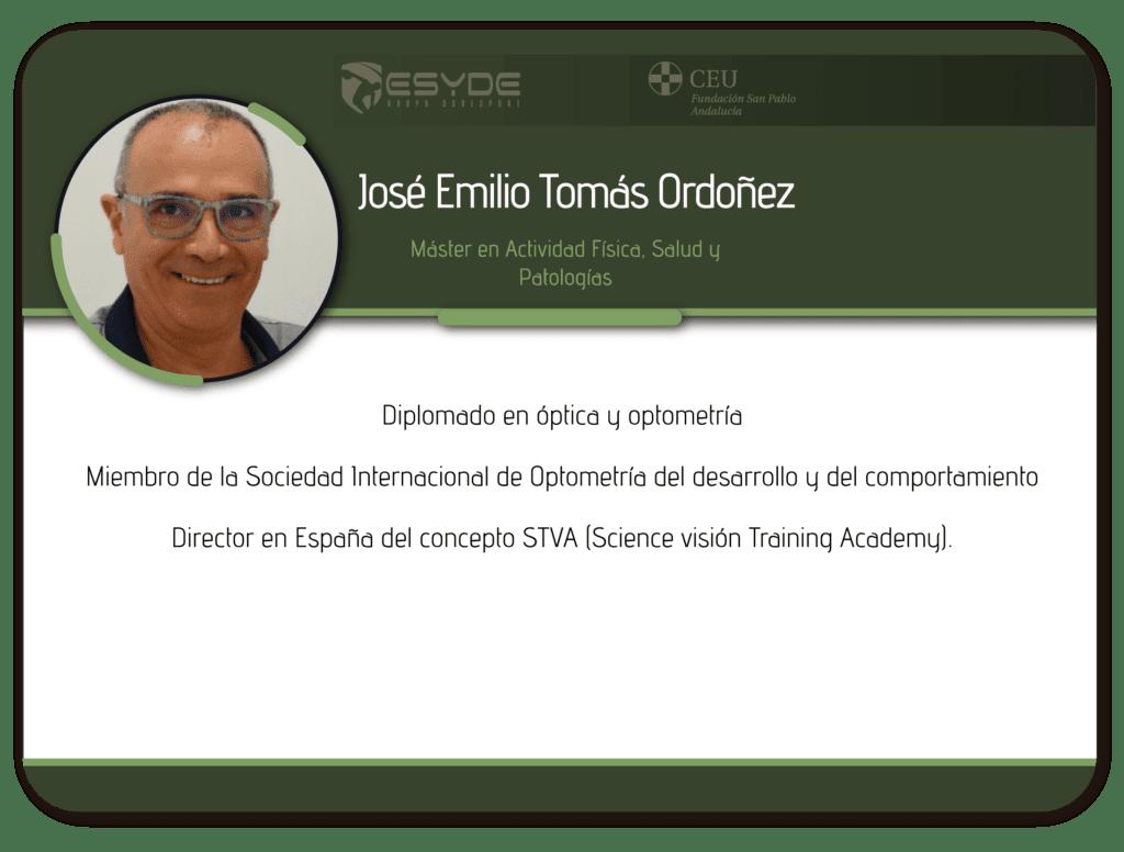 José Emilio Tomás Ordoñez 01 ESYDE