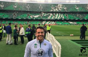 Eduardo Gallego Cabrera, área de fisioterapia del Real Betis Balompié.