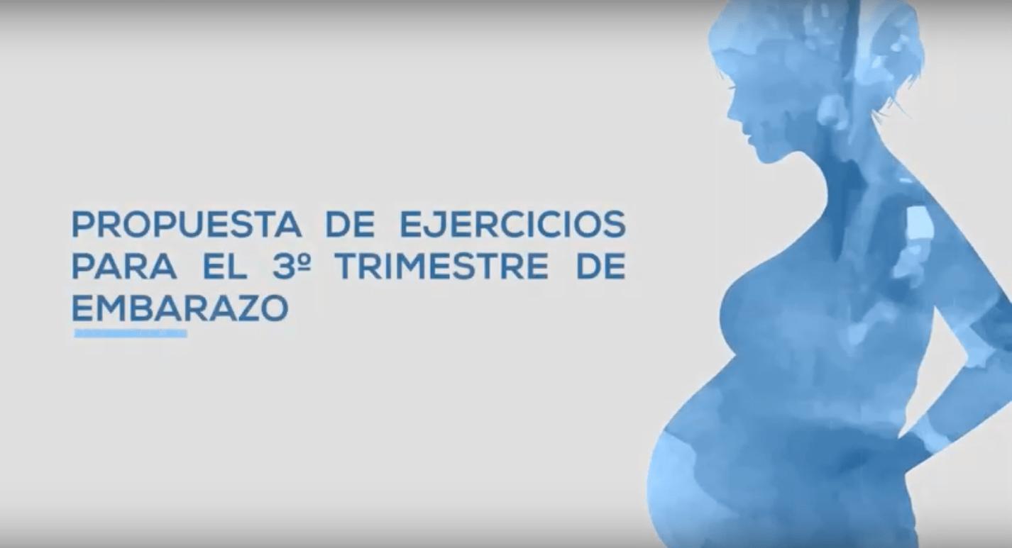 Ejercicios controlados durante el embarazo