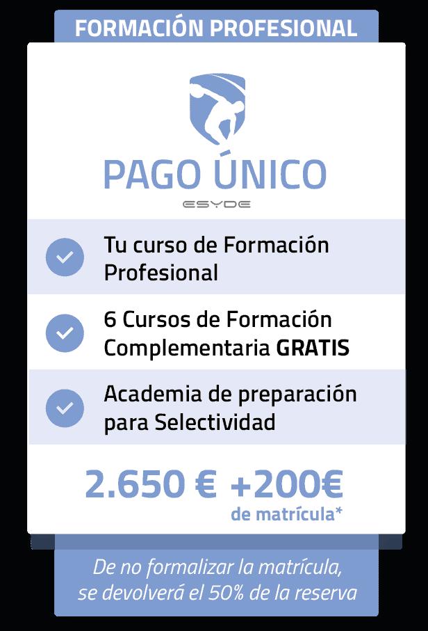 FPESYDE PAGO ÚNICO ESYDE
