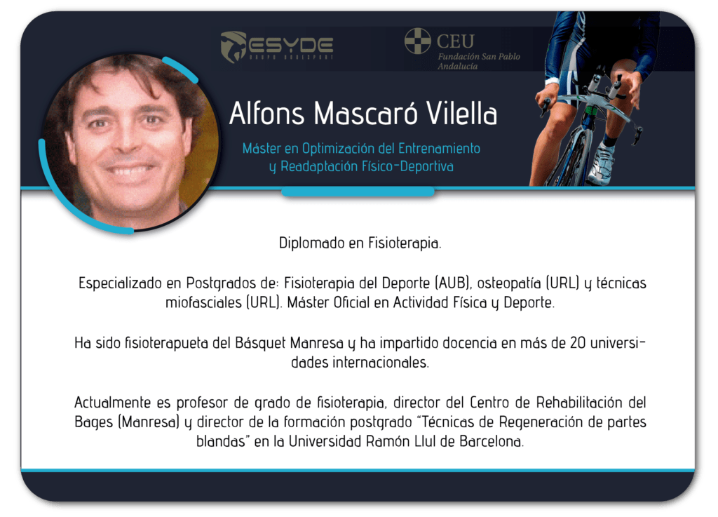 Alfons Mascaró Vilella2 ESYDE
