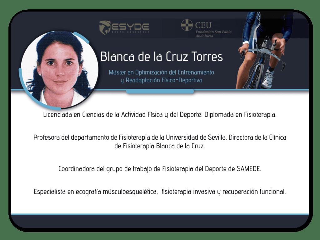 Blanca de la Cruz Torres2 min ESYDE