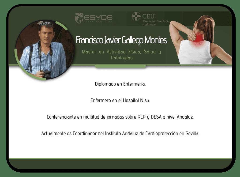 Francisco Javier Gallego Montes2 min ESYDE