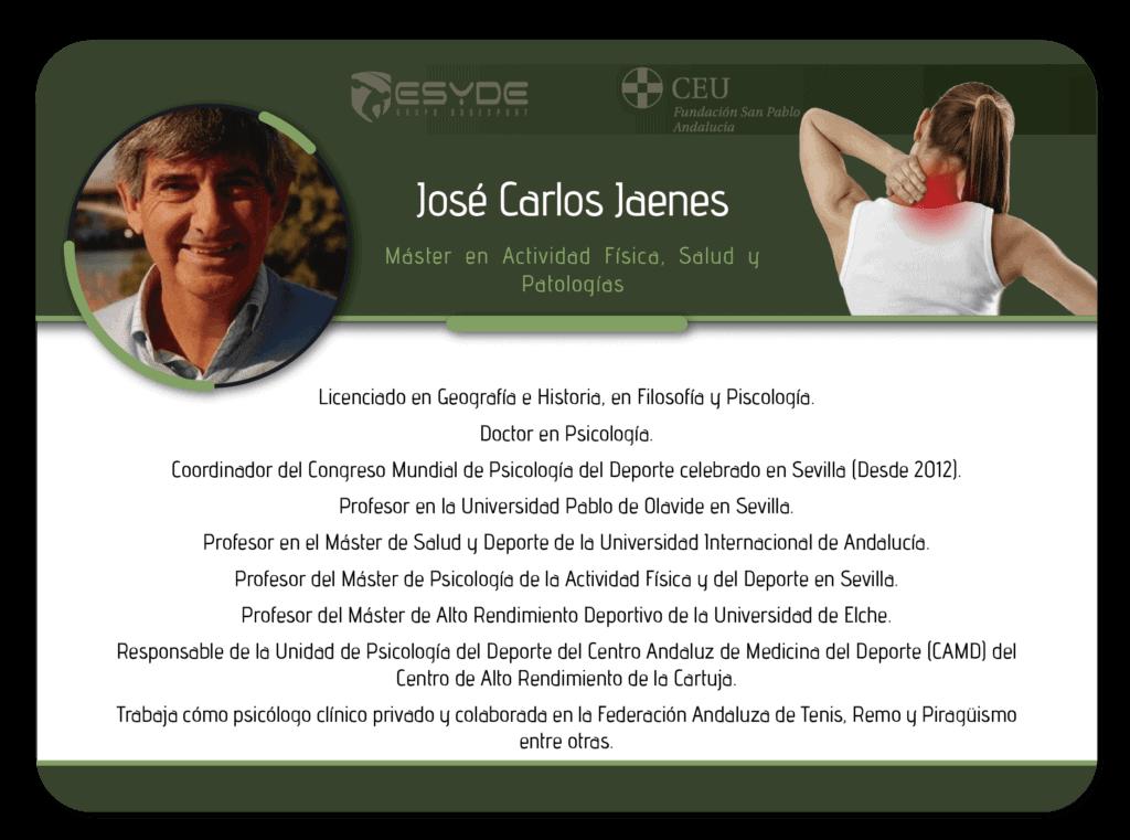 José Carlos Jaenes2 min ESYDE