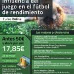 Influencia del juego en el fútbol de rendimiento – Formación Online