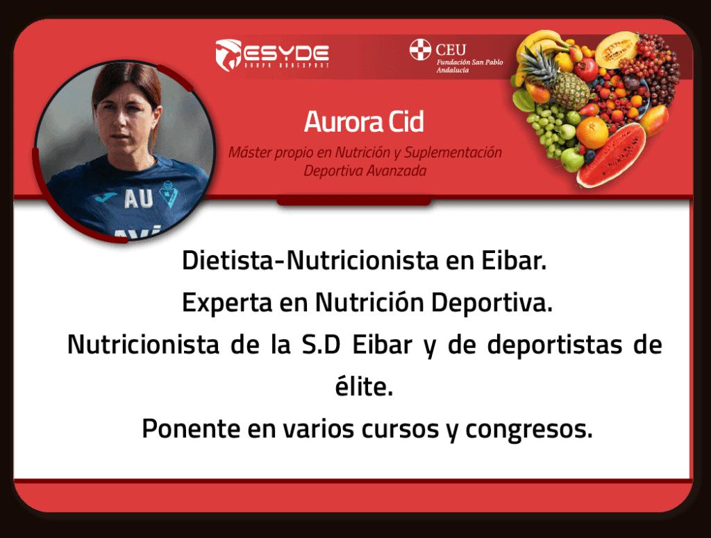 Aurora Cid 01 ESYDE