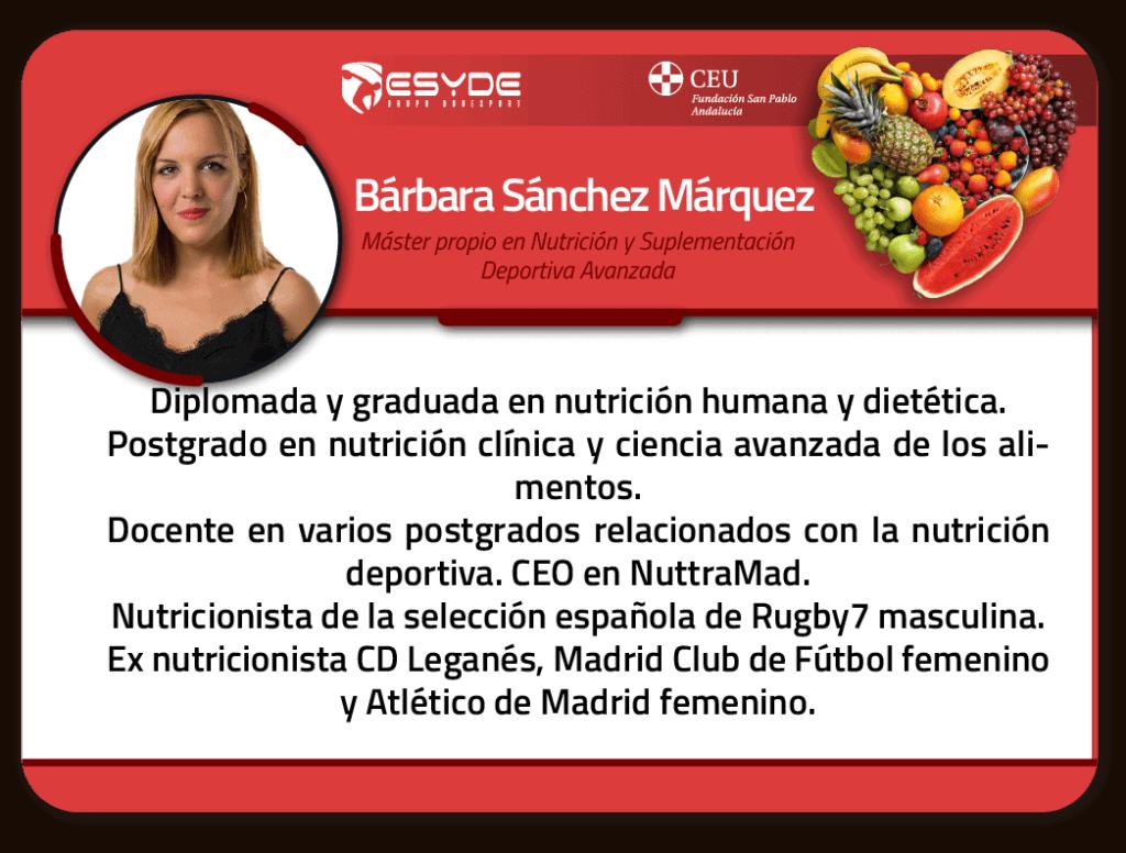 Bárbara Sánchez Márquez 01 ESYDE