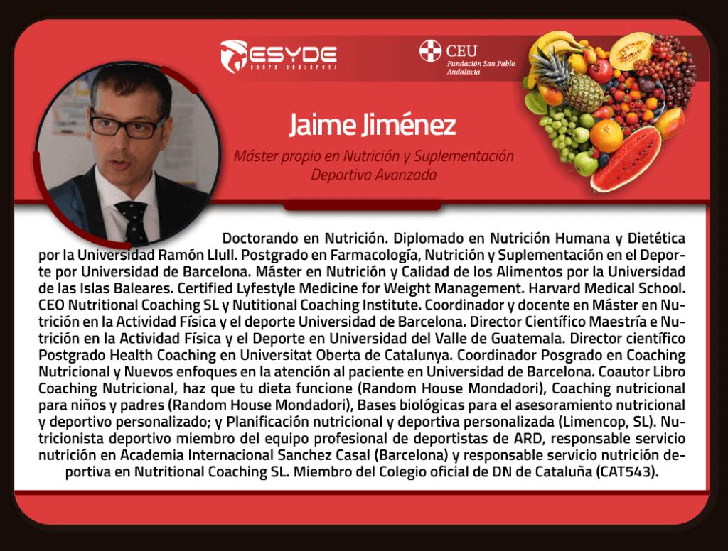 Jaime Jimenez m01 ESYDE