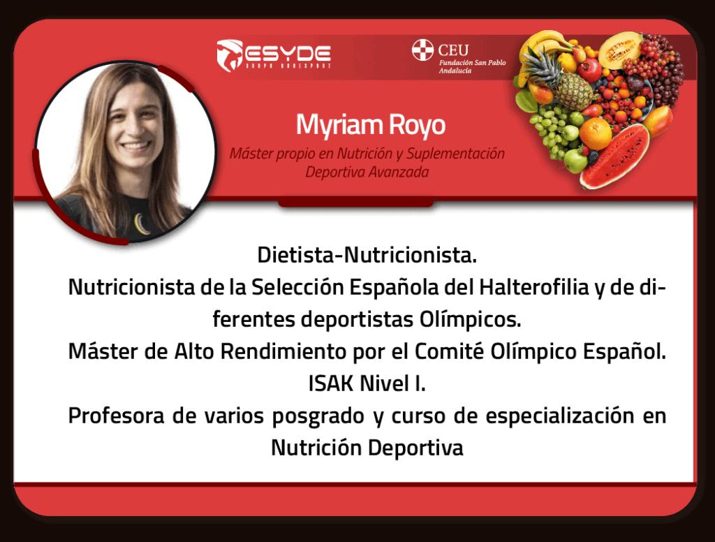 Myriam Royo 01 ESYDE