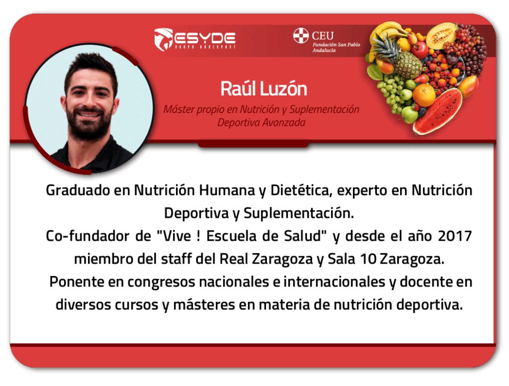 Raúl Luzón 01 ESYDE