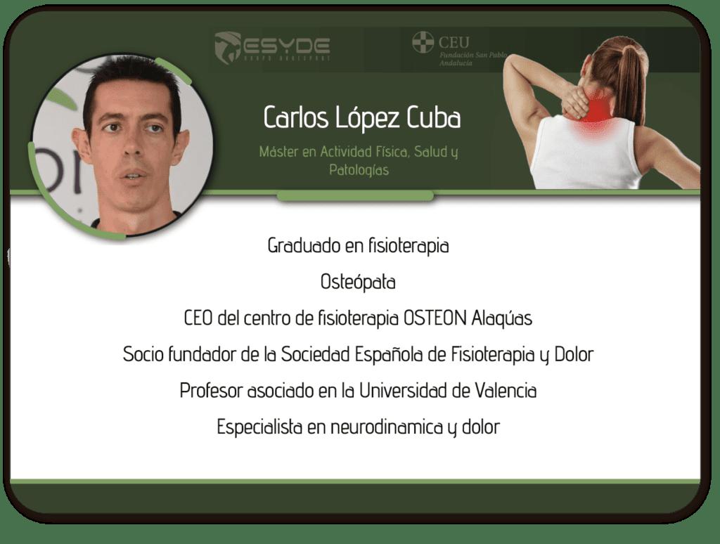 Carlos Lopez Cuba ESYDE