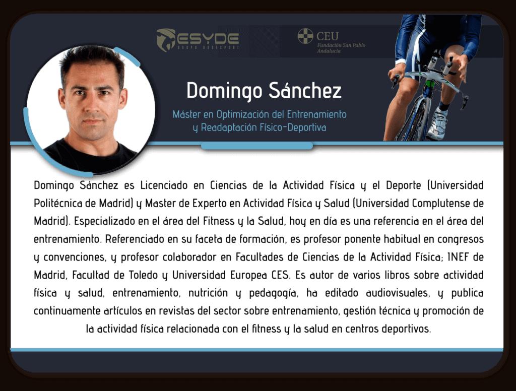 Domingo Sanchez 2 ESYDE