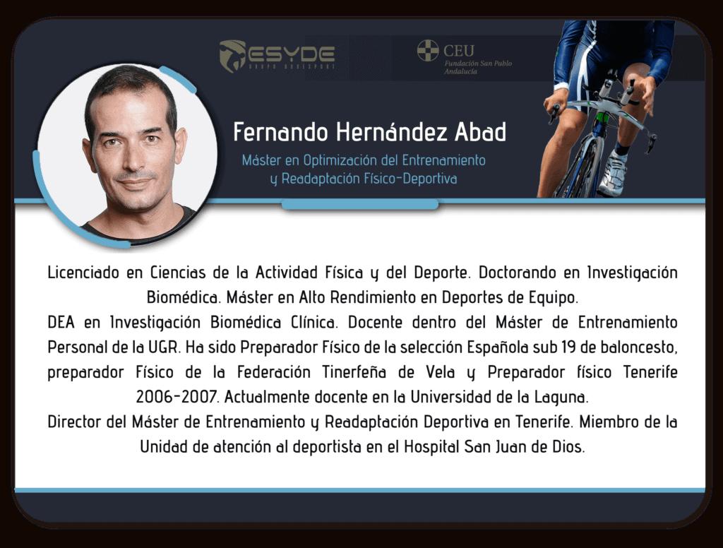Fernando Hernandez Abad ESYDE