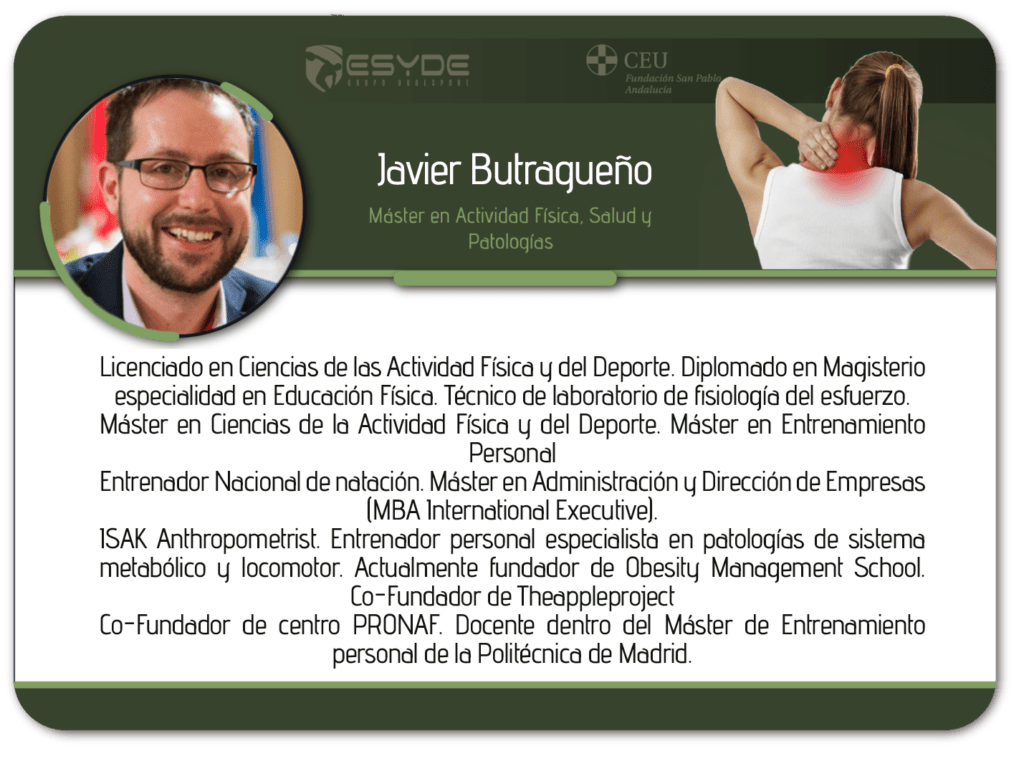 Javier Butragueno ESYDE