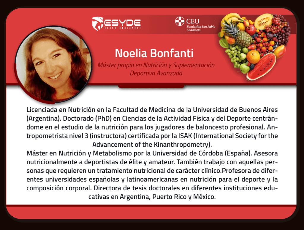 Noelia Bonfanti 2 ESYDE
