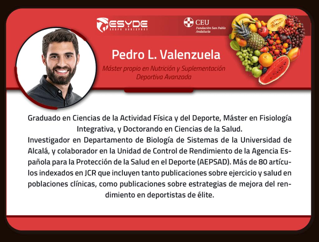 Pedro L. Valenzuelaa ESYDE