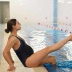 """""""El embarazo no es excusa para dejar de ir a la piscina"""" por David Millán"""