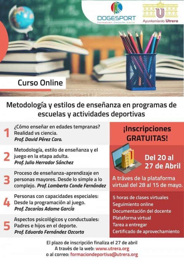 cartel curso online utrera 01 ESYDE