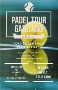 Pádel Tour Gaditano - ESYDE Cádiz