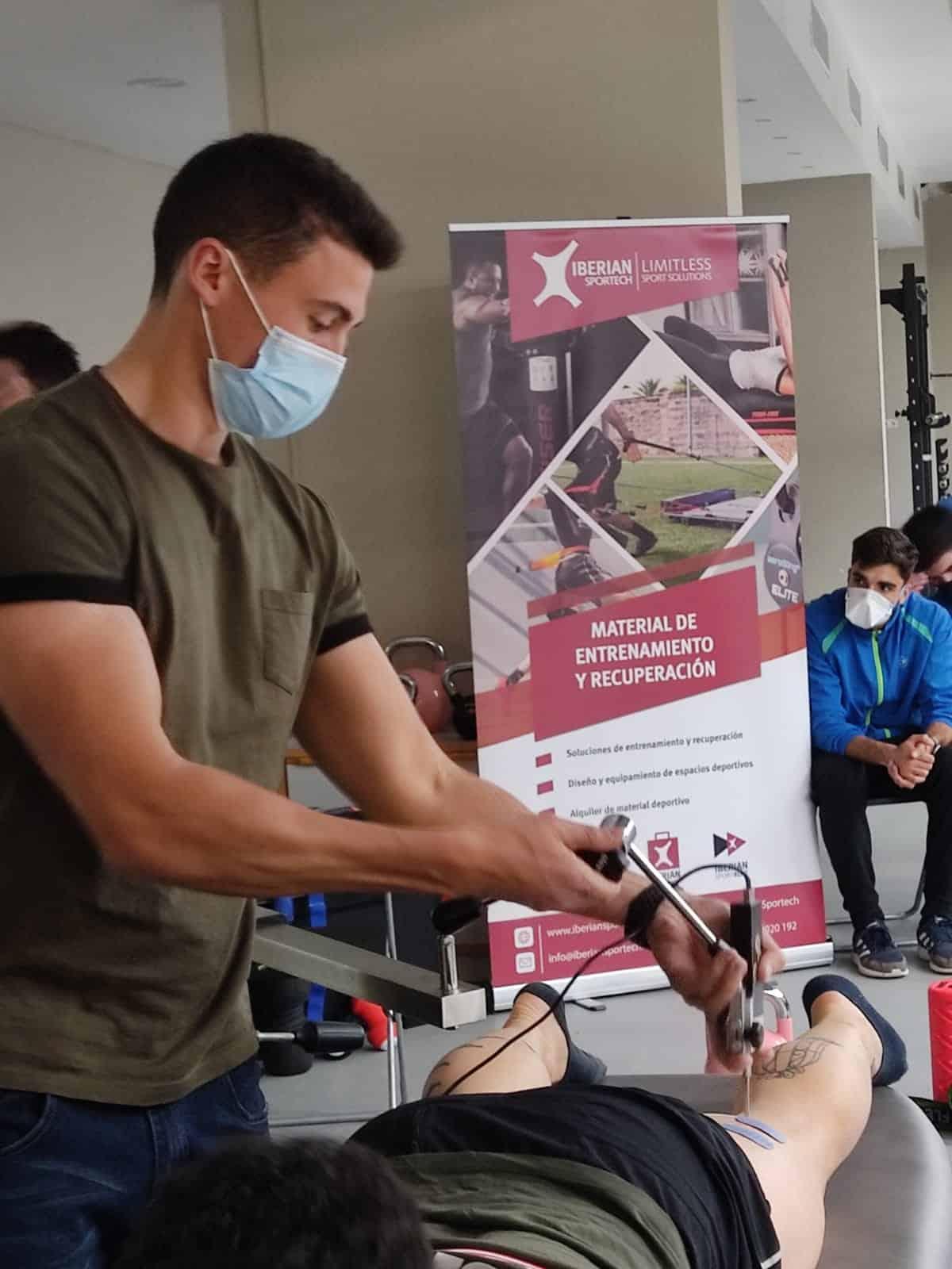 Iberian Sportech colabora un año más con el máster en entrenamiento y readaptación