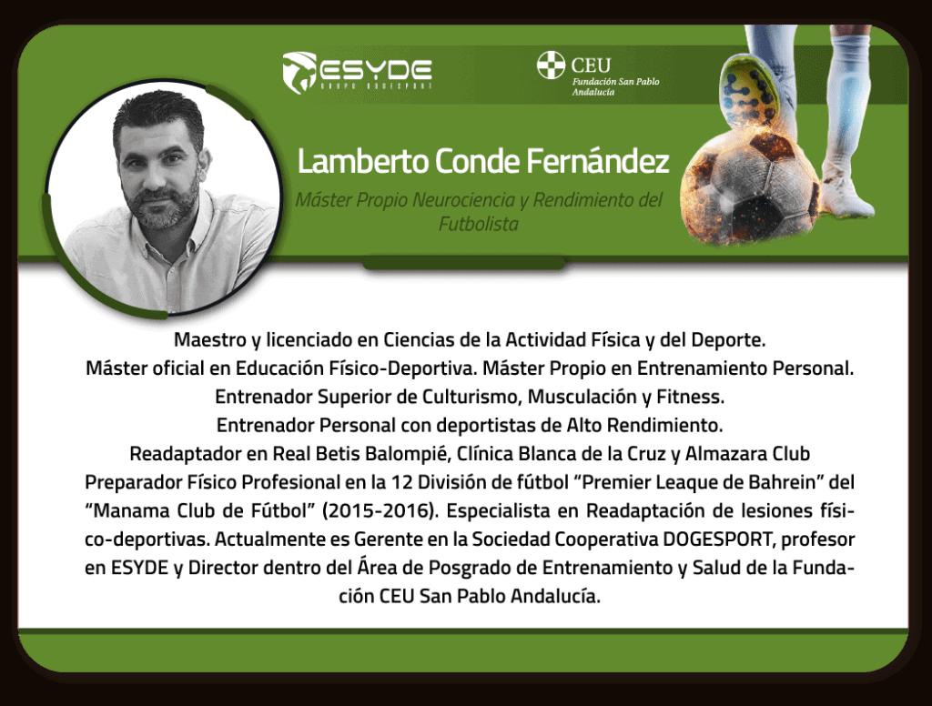 Lamberto Conde Fernandez CV 01 1 ESYDE