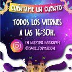 """""""Cuéntame un cuento"""":estudiantes del TSEI leerán libros para niños en Instagram"""