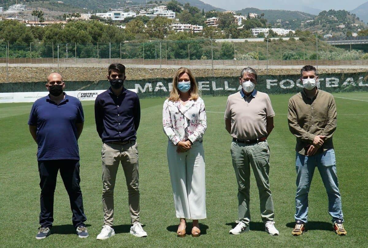 Presentación del Máster Propio en Neurociencia y Rendimiento del Futbolista en las instalaciones del Marbella Football Center